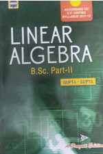 LINEAR ALGEBRA ( B.SC. PART - II )