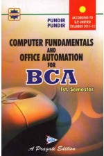 COMPUTER FUNDAMENTALS AND OFFICE AUTOMATION FOR BCA - I SEM.