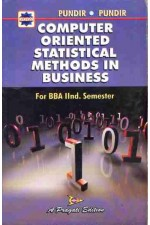 COMPUTER ORIENTED STATISTICAL METHODS IN BUSINESS - II SEM.