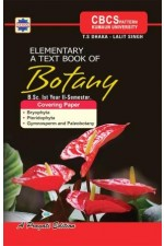 ELEMENTARY A TEXT BOOK OF BOTANY I year II sem