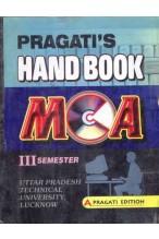 HAND BOOK OF MCA - III SEM.