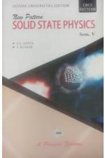 NEW PATTERN SOLID STATE PHYSICS SEM.- V ( ODISHA )