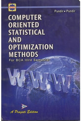 COMPUTER ORIENTED STATISTICAL AND OPTIMIZATION METHODS